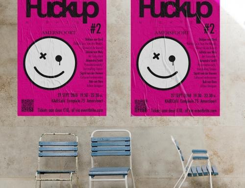 Posters FuckUp Night Amersfoort