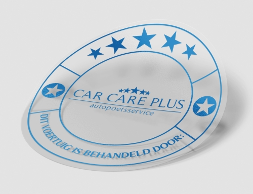 Car Care Plus Nijkerk sticker