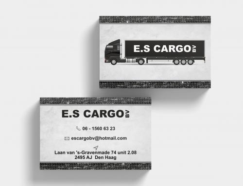 Visitekaartje ES Cargo