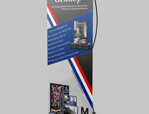 Banner 'Gekkop'