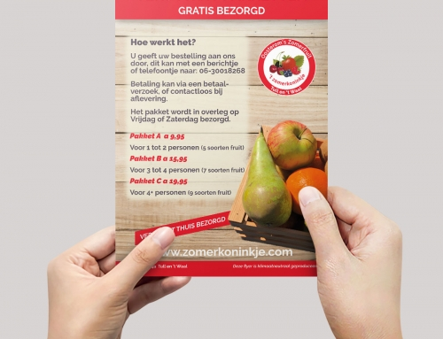 Flyer Oosterom zomerfruit